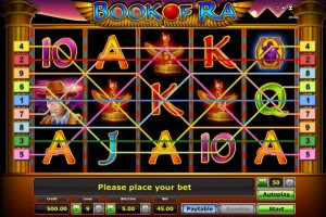 book of ra novoline slot