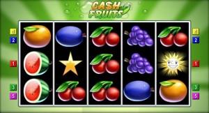 cash fruits automat online