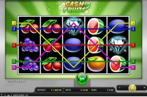 cash fruits automaten online