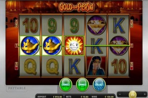merkur gold of persia slot