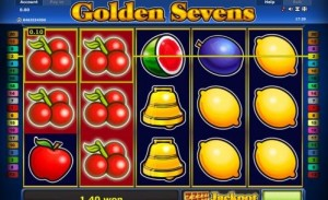 golden sevens von novoline