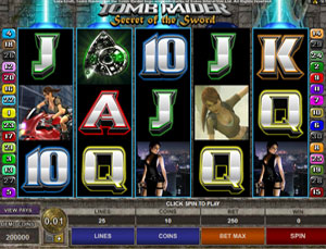 Tomb Raider 2 Spiel Microgaming